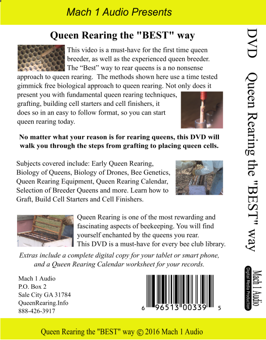 T&S bee Farm - Queen Rearing DVDs
